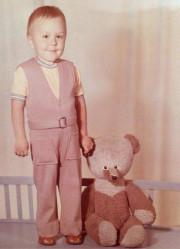 Ретрофото. Сергей Шнуров в детстве. СССР. 1970-е.