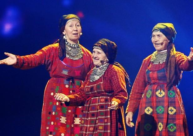 2012 год. «Бурановские бабушки». 2 место