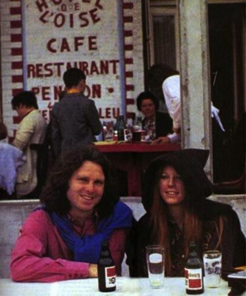 Ретрофото. Последний прижизненный снимок Джима Моррисона, фронтмена The Doors