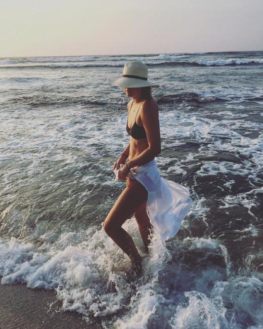 Мария Шарапова отдыхает на Багамских островах