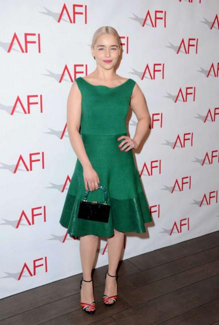 Эмилия Кларк на церемонии вручения премий AFI Awards 2018 в Лос-Анджелесе