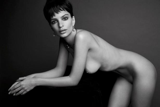 Эмили Ратаковски снялась голой для журнала Love