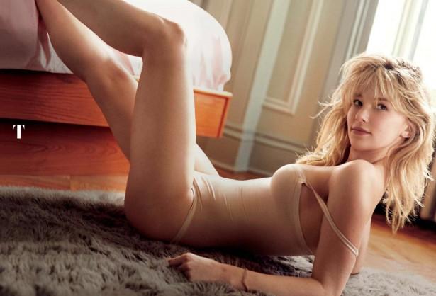 Актриса Хейли Беннетт в нижнем белье на страницах американского GQ