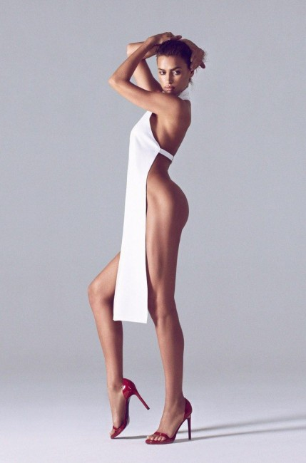 Ирина Шейк в журнале Harper's Bazaar