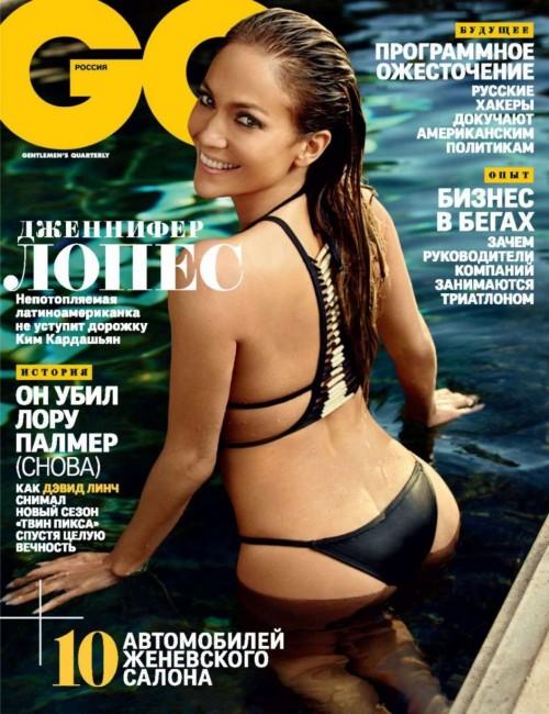 Дженнифер Лопес показала попу русскому GQ