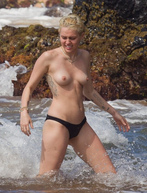 Miley cyrus topless hawaii