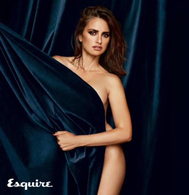 Голая Пенелопа Крус в журнале Esquire