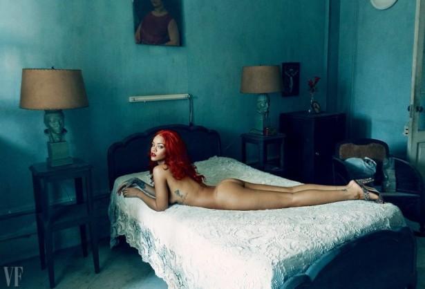 Рианна в свежем номере Vanity Fair