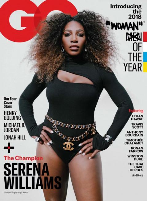 Серена Уильямс в купальнике на обложке журнала GQ