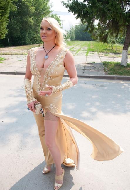 Анастасия Волочкова вновь похвасталась голой грудью