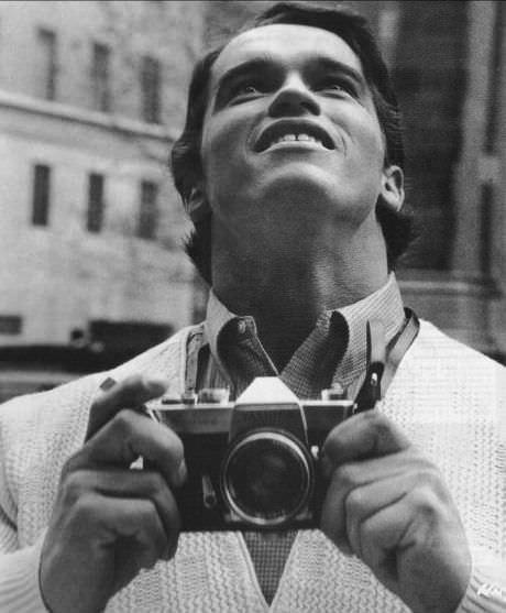 Ретрофото. 1968 год. Арнольд Шварценеггер впервые посетил Нью-Йорк