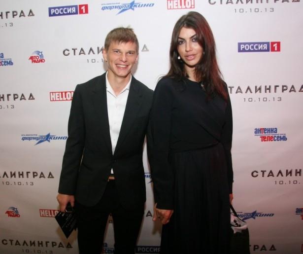 Андрей Аршавин воссоединился с подругой в Санкт-Петербурге