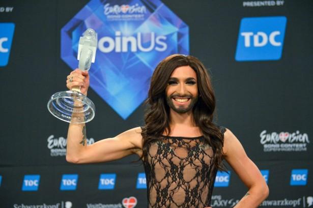 Кончита Вурст — победитель «Евровидения-2014»