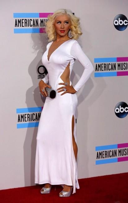 Кристина Агилера на церемонии American Music Awards 2013