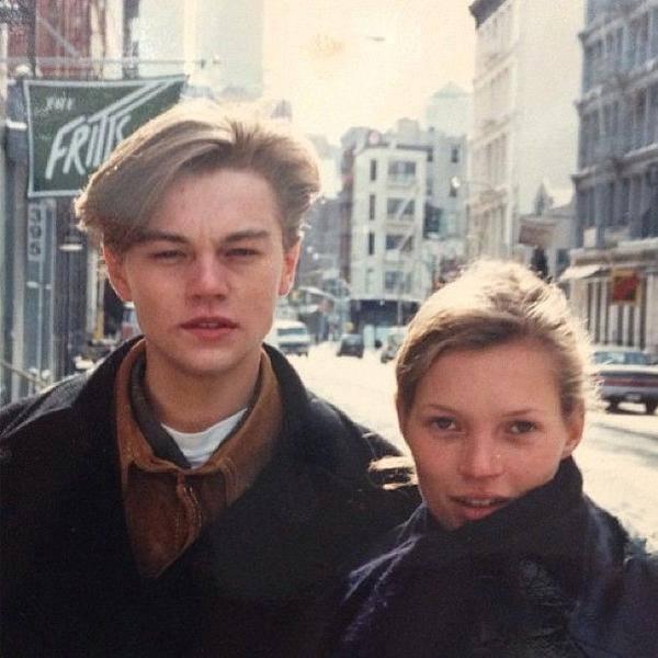 Леонардо ди Каприо и Кейт Мосс. США. 90-е