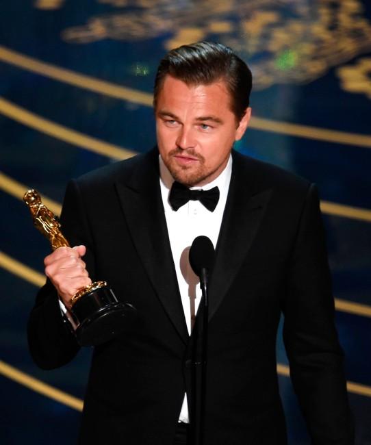 Леонардо ди Каприо наконец-то получил премию «Оскар»