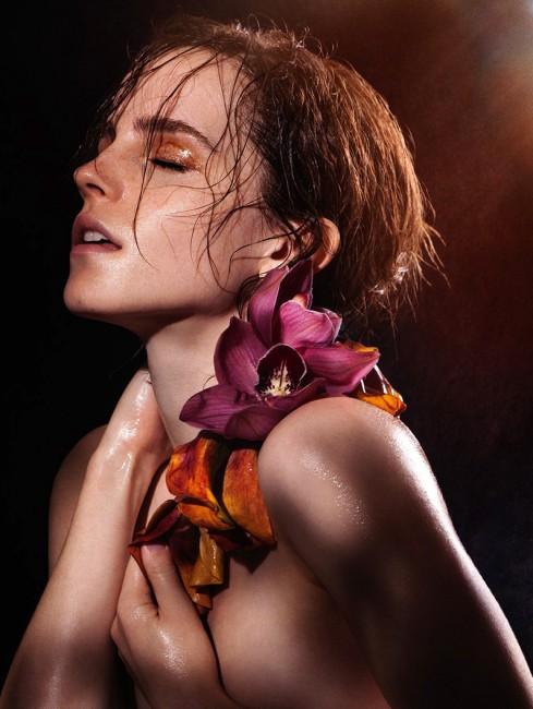 Эмма Уотсон в фотосессии для книги «Natural Beauty»