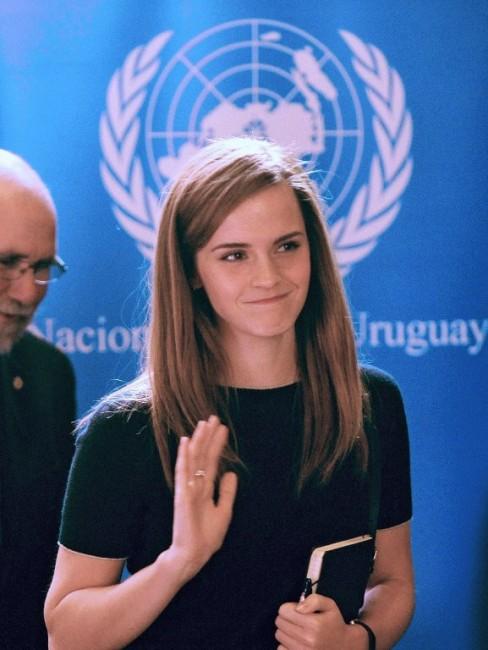 Эмма Уотсон посетила Уругвай в качестве посла ООН