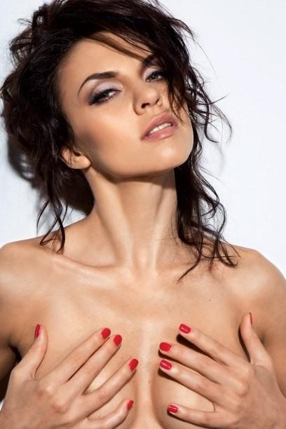 Голая Надя Ручка в журнале Playboy