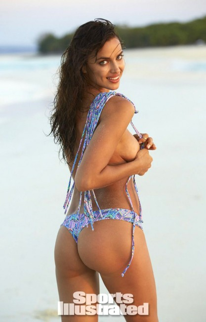 Ирина Шейк в журнале Sports Illustrated Swimsuit 2014