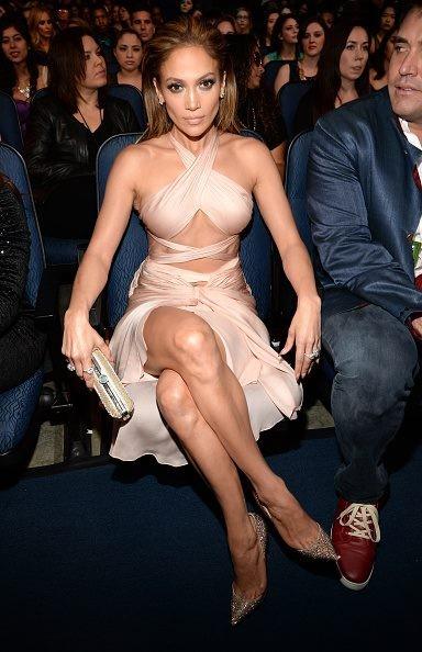 Наряд Дженнифер Лопес на церемонии вручения премий «American Music Awards-2014»