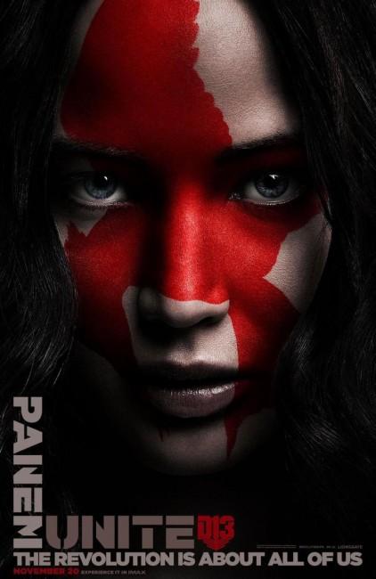 Дженнифер Лоуренс на новом постере фильма «Голодные игры: Сойка-пересмешница. Часть 2»