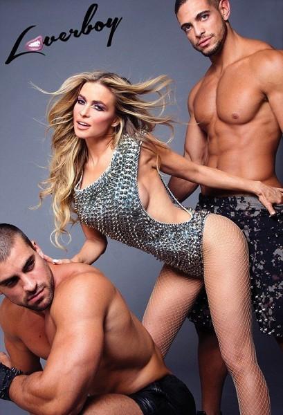 Кармен Электра в гей-журнале «Loverboy»