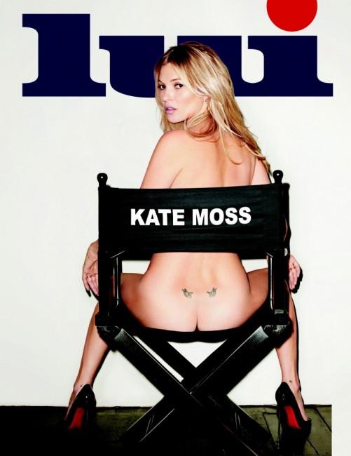 Кейт Мосс на обложке журнала LUI magazine