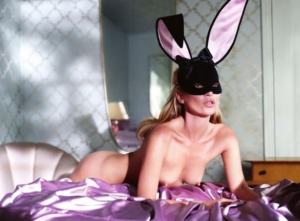 Кейт Мосс в юбилейном выпуске Playboy