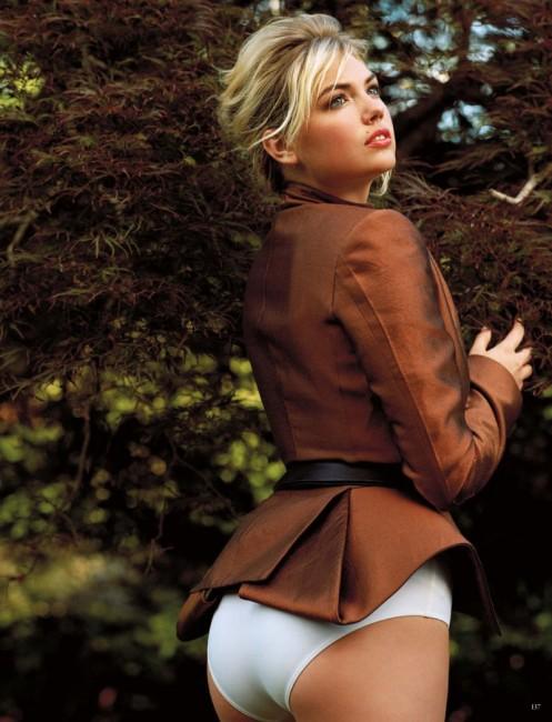 Американская модель Кейт Аптон на страницах глянца