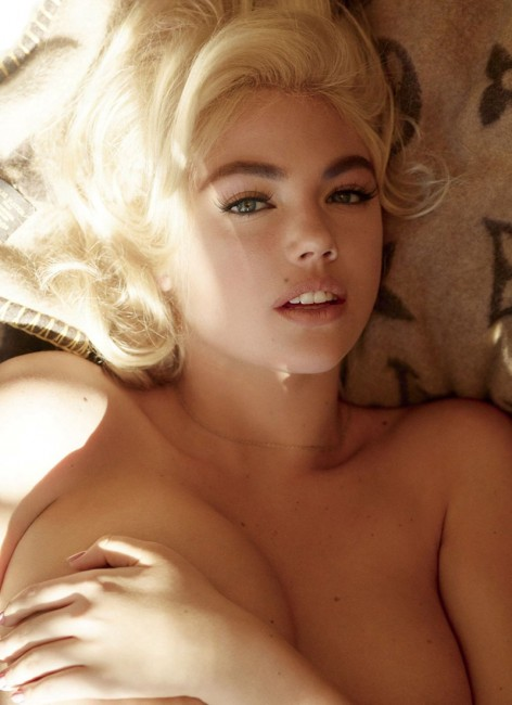 Кейт Аптон в образе Мэрилин Монро для V Magazine