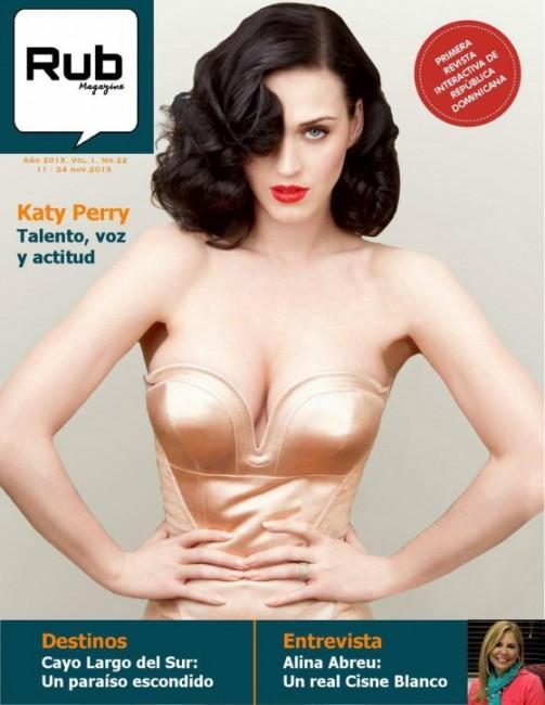 Кэти Перри на обложке ноябрьского Rub Magazine