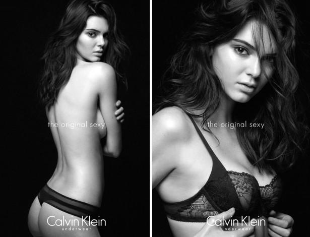 Кендалл Дженнер разделась для рекламы Calvin Klein