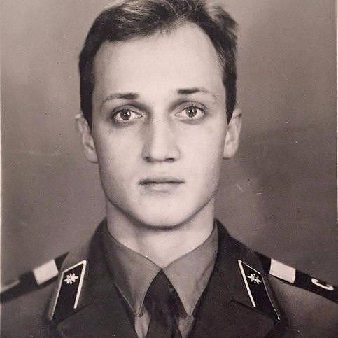 Ретрофото. Гоша Куценко во время службы в армии