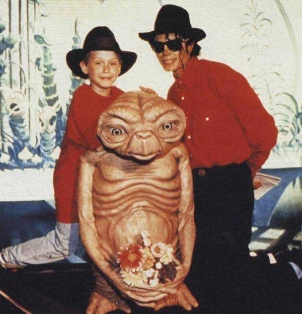 Маколей Калкин и Майкл Джексон. США. 1991 год