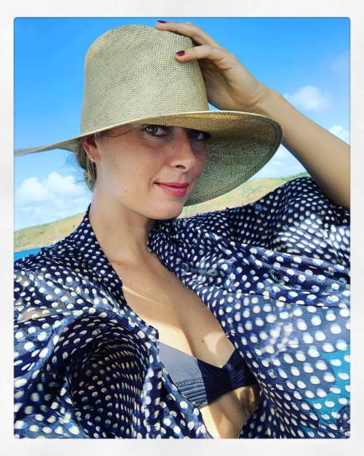 Мария Шарапова снова снялась в купальнике