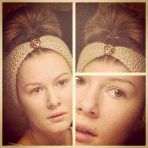 Мария Кожевникова без макияжа
