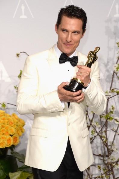 Мэтью Макконахи получил «Оскар-2014» за лучшую мужскую роль