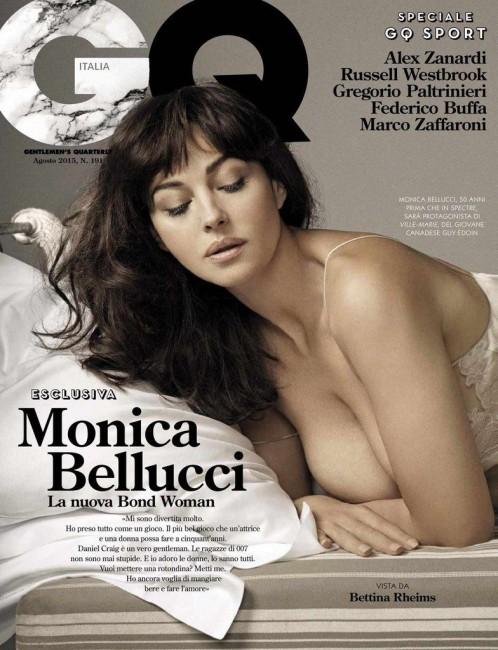 50-летняя Моника Беллуччи на обложке GQ