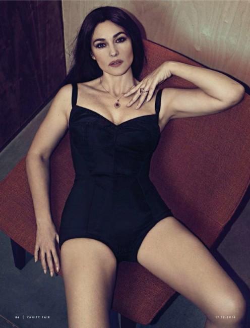 50-летняя Моника Беллуччи в журнале Vanity Fair