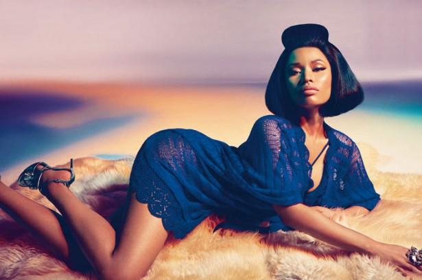 Ники Минаж стала новым лицом бренда Roberto Cavalli