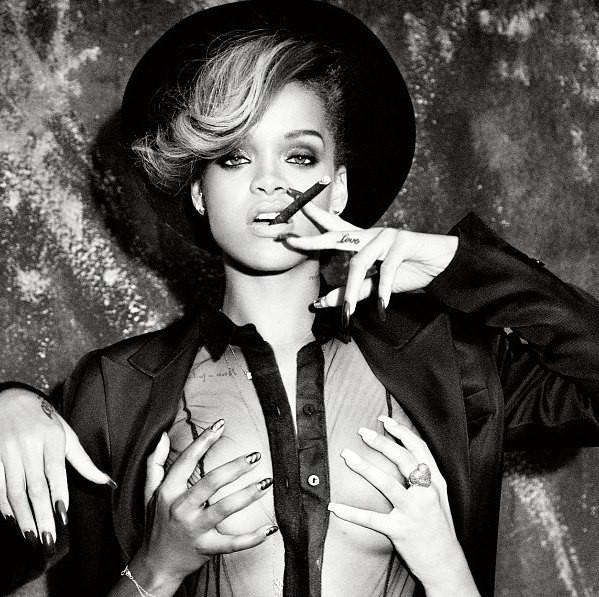 Рианна в промо-фотосессии для альбома «Talk That Talk»