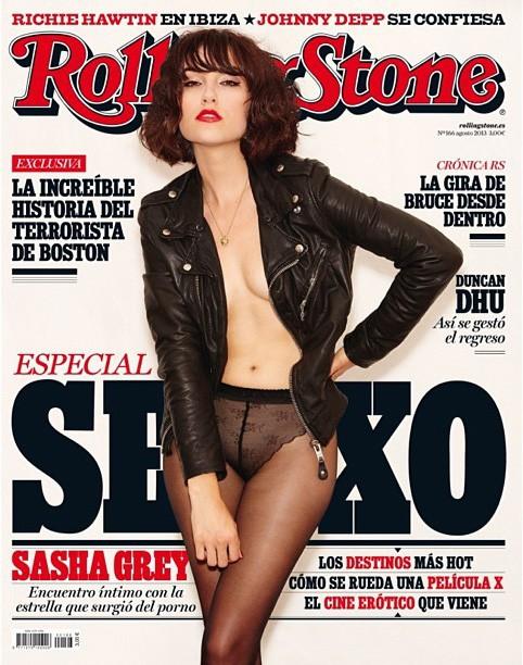 Саша Грей на обложке журнала Rolling Stone