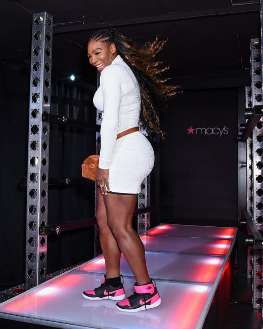 Серена Уильямс представила собственный бренд одежды Serena