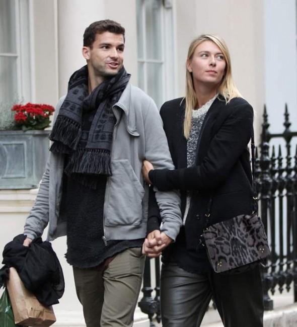 Мария Шарапова и Григор Димитров опровергли слухи о размолвке, появившись вместе в Лондоне