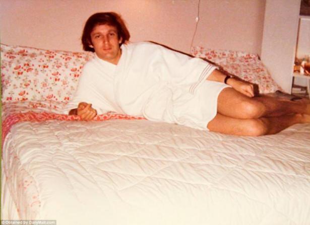 Ретрофото: молодой Дональд Трамп (70-е годы)