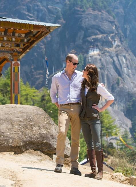 Принц Уильям и Кейт Миддлтон в Бутане