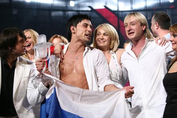 2008 год. Дима Билан. 1 место